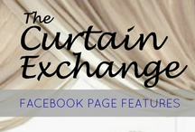 FACEBOOK FEATURES / Engage in the page - Come like us on Facebook and join in on some curtain chat here on the board and a@The Curtain Exchange Facebook page: http://www.facebook.com/thecurtainexchange / by The Curtain Exchange