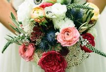 Weddings: Personal Flowers / Inspiration for personal wedding flowers including wedding bouquets, boutonnieres, bridesmaids bouquets and bridal bouquets