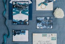 Weddings: Stationery / Wedding stationery inspiration including wedding invitations, place cards, escort cards and day-of stationery.