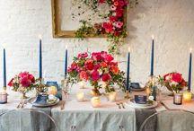 Weddings: Tablescapes & Centerpieces / Wedding decor inspiration for tablescapes and centerpiece. Flowers, candles & decor.