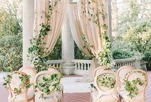 Weddings: Ceremony / Wedding ceremony decor and setup inspiration