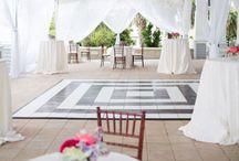 Weddings: Bars, Dance Floors, Furniture & Floor Plans / Wedding decor inspiration including furniture, floor plans, room layouts and ideas