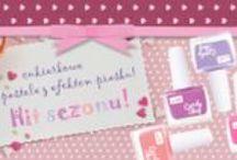 Lakiery do paznokci Candy Shop / Piaskowe lakiery w cukierkowych kolorach