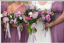 Wedding Flowers / Bouquets, Boutonnieres, Centerpieces.. All floral goodness www.salandbella.com / by Chrissy Olson