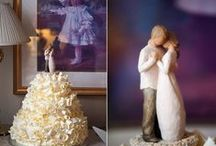 Wedding Cakes / All the gorgeous wedding cakes.  / by Chrissy Olson