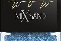 WOW Mix Sand / Lakiery do paznokci WOW MIX SAND