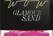 WOW Glamour Sand / lakier do paznokci WOW Glamour Sand  nowość październik 2014r.!  #wibo #wibopl #wibokosmetyki #nails #glamoursand