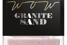 WOW Granite Sand / lakier do paznokci WOW Granite Sand