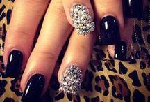 Party Nails / #nails #party #brokat #impreza #zabawa #beaut #wibo #wibopl