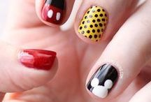 Disney Nails / #disneynails #disney #bajki #nails #princess #księżniczki #manilove #manicure #artmani