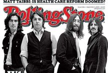 cover of the Rolling Stone / by Russell Renneberg