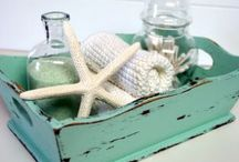 Nautical Bathroom Decor / Cleanse like a mermaid Goddess in these awesome nautical-themed bathrooms.