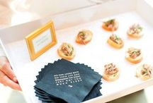 Weddings: Eats & Drinks / Food inspiration for weddings and events