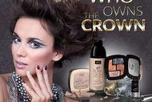 WHO OWNS THE CROWN / Mocny make-up to zdecydowany trend makijażowy jesiennego sezonu. Liczy się nie tylko kolor ale przede wszystkim błysk. Aksamitne i połyskujące szarości zwiastują w tym sezonie najwięksi dyktatorzy. W ślad za nimi najnowsza kolekcja WIBO WHO OWN THE CROWN sygnowana przez Paulinę Krupińską stawia na metaliczne wykończenie makijażu.