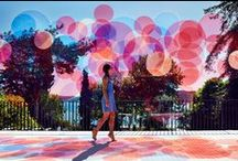 art in public / art installations that are interactive, involving public space