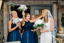 Beautiful Bridesmaids- Knoxville Florist / Bridesmaids are important too! Knoxville, TN wedding florist.