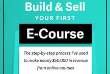 All About eCourses / Dissecting how online experts are making 6-figure passive incomes from compiling their knowledge into a valuable and marketable eCourse.