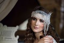 Vintage inspired headpieces by Beretkah / Vintage style bridal accessories created hand by Beretkah