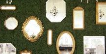 Southern Glam Wedding Inspiration / Southern Glam wedding inspiration with boxwood, sequins, gold and blush