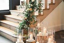 Organic Greenery Wedding Inspiration / Inspiration for an organic greenery themed wedding
