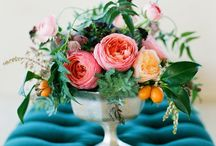 Bold & Colorful Same-Sex Styled Shoot / Inspiration for a colorful styled shoot