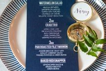 Nautical Wedding Inspiration / Nautical Wedding inspiration board. Anchors, Compasses, navy blue and gold styling and wedding decor.