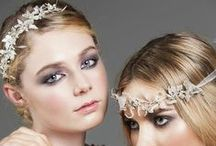 Vintage inspired bridal accessories / Bridal vintage inspired hair accessories  and style ideas