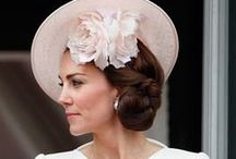 Royal millinery styles / Royal hats, Kieth Midlton style, British royalty millinery fashion and style