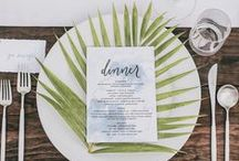 A Tropical Wedding / Destination weddings are so in. This board is a collection of ideas for a glam, beachfront ceremony and outdoor resort reception.