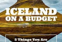 Iceland Travel Tips And Inspiration / This board is for Iceland travel tips and inspiration for traveling to Iceland! We also include a lot of pins about budget travel to Iceland!