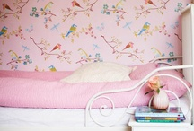 Pink Girls' Rooms / by Bee @ Hellobee