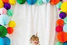 Buntings, Balloons, Lanterns / Inspiration, DIY, and ideas for buntings, balloons, and lanterns