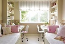 Shared Childrens' Rooms / by Bee @ Hellobee
