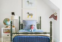 Boys' Rooms / Bedroom ideas for little boys - how to decorate, inspiration for decor, and organization ideas.