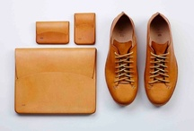 Leather Goods / Examples of leather goods that I would like to make in the near future.
