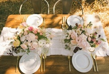 Flower arrangements and table decorations