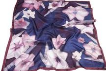 Hand painted silk scarves / Hand painted silk scarves from Hungary - Bright and fadeless colors with steam fixed dye on pure silk. Take a look at our products: http://silkywaysilk.com