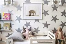 Gender Neutral Rooms / Gender neutral bedroom ideas for kids and teenagers - how to decorate, inspiration for decor, and organization ideas.