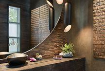 Banheiro e Lavabo   Bathroom and Restroom / by Teresa Gaschler