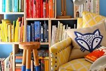 Beautiful Book Storage / Beautiful and fun ideas for displaying books / by Highlights for Children