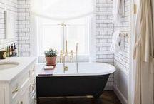 Interiors: Bathrooms / Inspiration for bathroom decor and renovations