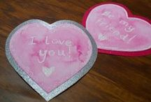 Holiday | Valentine's Day ❤ / ❤ Show off your love with these crafts and recipes ❤