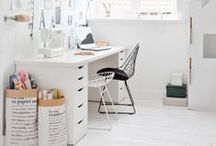 Interiors: Office / Inspiration and ideas for home offices / by Bee @ Hellobee