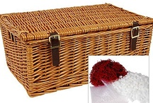 Empty Hamper Baskets and Trays