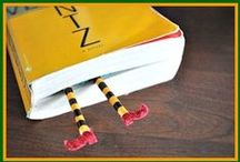 Bookmarks / Encourage your children's reading with fun DIY bookmarks / by Highlights for Children