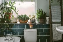 Bathrooms / Inspiration, colours, tiles etc  / by Emily Simpson
