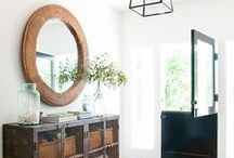 Interiors: Entryways / Inspiration for entryway decor and renovations