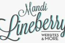 Mandi Lineberry Website Design / Inspiration, Ideas, Thoughts, and even some of my own work... / by Mandi Lineberry