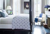 Spare bedroom 3-cream, navy