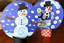 Season | Winter / No two snowflakes are alike, just like these fun snowy crafts / by Highlights for Children